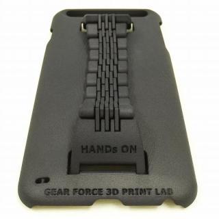 ベルト付きケース 「HANDs ON」 Design ブラック iPhone 6 Plus