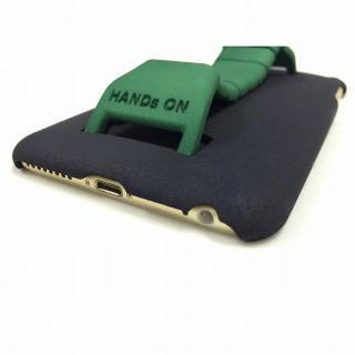 ベルト付きケース 「HANDs ON」 YANMA グリーン iPhone 6 Plus