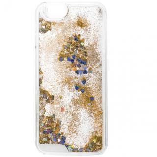 ラメKIRA ハードケース ゴールド iPhone 6
