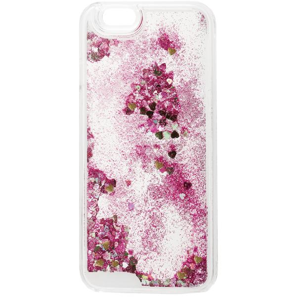 【iPhone6ケース】ラメKIRA ハードケース ピンク iPhone 6_0