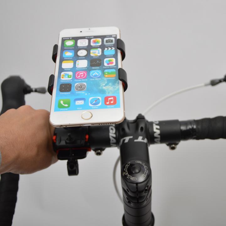 自転車用超大型スマートフォンホルダー