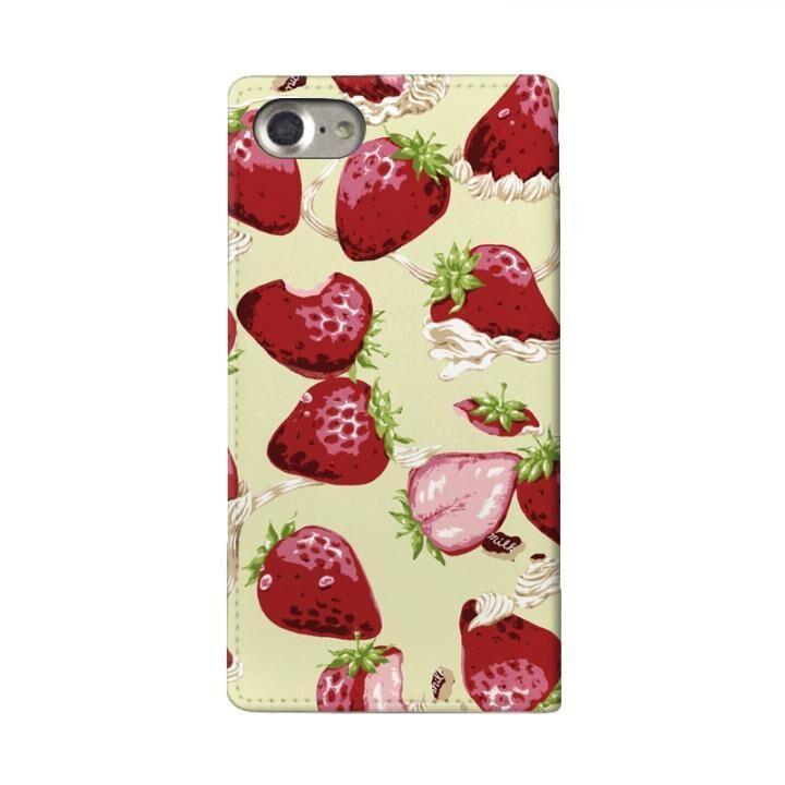 iPhone8/7/6s/6 ケース MILK 手帳型ケース WHIPPED BERRY ホワイト iPhone 8/7/6s/6_0