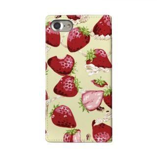 iPhone8/7/6s/6 ケース MILK 手帳型ケース WHIPPED BERRY ホワイト iPhone 8/7/6s/6