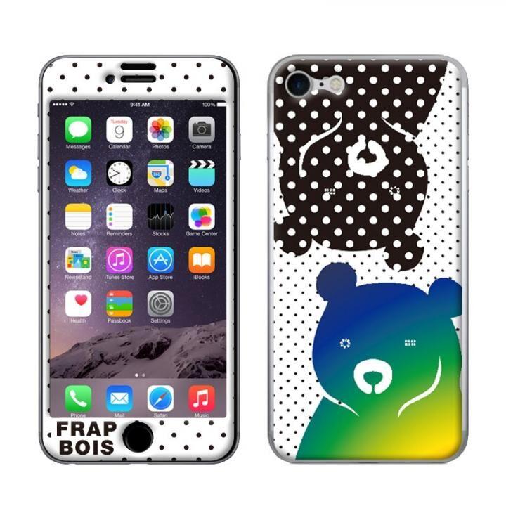 【iPhone8/7ケース】FRAPBOIS スキンシール BEAR DOT  iPhone 8/7【3月下旬】_0