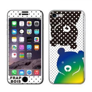 iPhone8/7 ケース FRAPBOIS スキンシール BEAR DOT  iPhone 8/7【9月下旬】