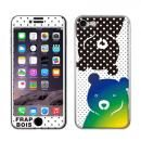 FRAPBOIS スキンシール BEAR DOT  iPhone 8/7【2月上旬】