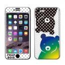 FRAPBOIS スキンシール BEAR DOT  iPhone 8/7