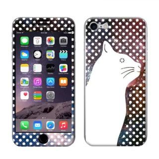 iPhone8/7 ケース FRAPBOIS スキンシール SPACE NEKO iPhone 8/7【11月下旬】