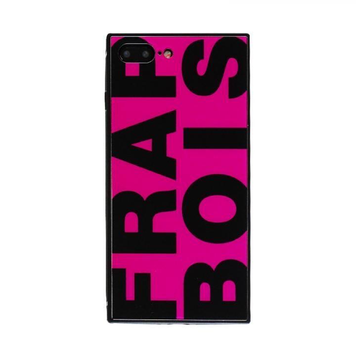 iPhone8 Plus/7 Plus ケース FRAPBOIS スクエア型 ガラスケース FRAPBOIS PINK iPhone 8 Plus/7 Plus_0