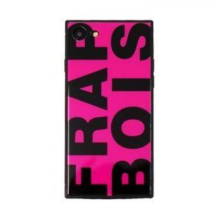 iPhone8/7 ケース FRAPBOIS スクエア型 ガラスケース FRAPBOIS PINK iPhone 8/7【9月上旬】