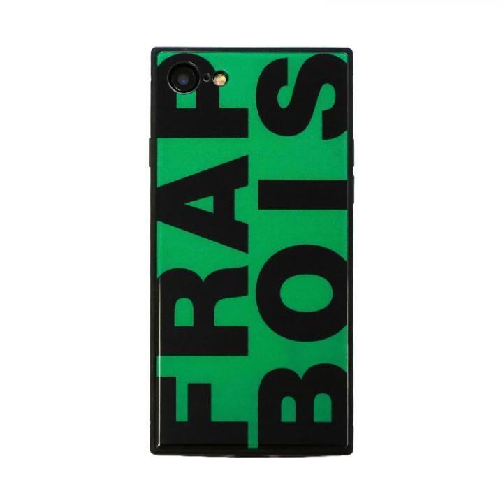 iPhone8/7 ケース FRAPBOIS スクエア型 ガラスケース FRAPBOIS GREEN iPhone 8/7_0