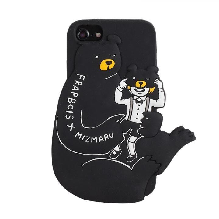 iPhone8/7/6s/6 ケース FRAPBOIS 背面ケース 3D MIZUMARU BEAR iPhone 8/7/6s/6_0