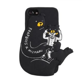 iPhone8/7/6s/6 ケース FRAPBOIS 背面ケース 3D MIZUMARU BEAR iPhone 8/7/6s/6【12月中旬】