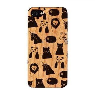 【iPhone8/7/6s/6ケース】FRAPBOIS ウッドケース WOOD ZOO BLACK iPhone 8/7/6s/6【12月下旬】