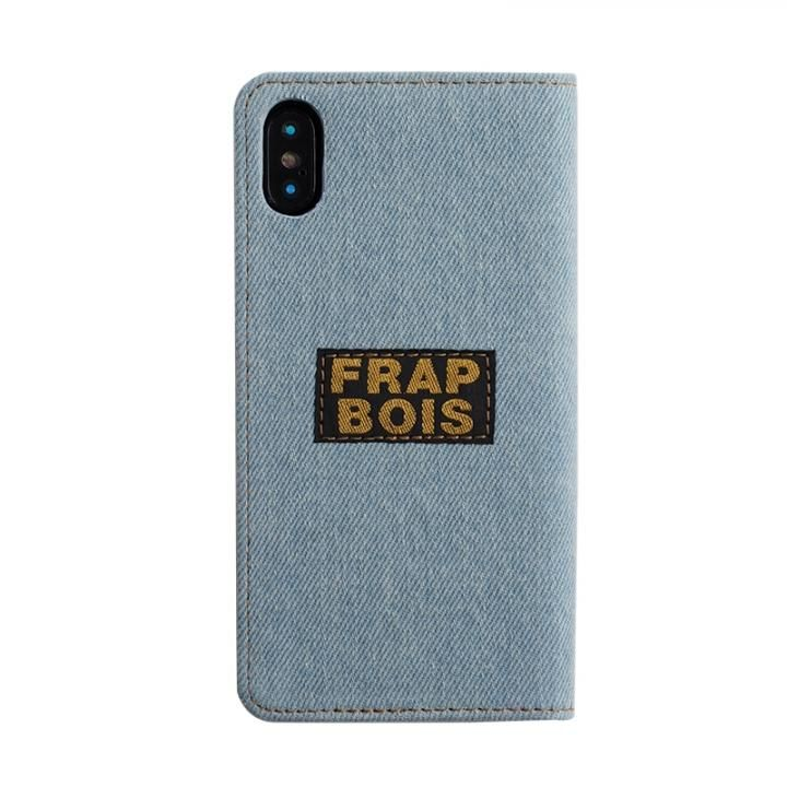 iPhone XS/X ケース FRAPBOIS 手帳型ケース SCALLOP WHITE iPhone XS/X_0