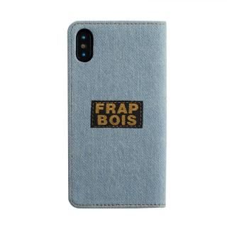 iPhone XS/X ケース FRAPBOIS 手帳型ケース SCALLOP WHITE iPhone XS/X