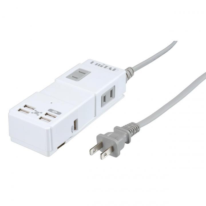 USB給電+HUB機能付きOAタップ_0
