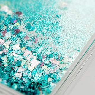 【iPhone6ケース】ラメKIRA ハードケース ブルー iPhone 6_1