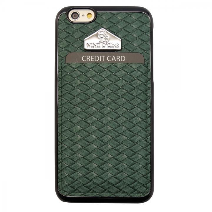 【iPhone6ケース】i-Pocket クラシック グリーン iPhone 6ケース_0
