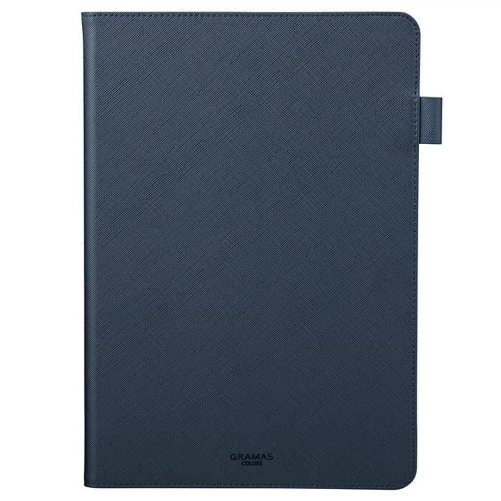 EURO Passione PU Leather 手帳型ケース ネイビー iPad 7th(2019)_0