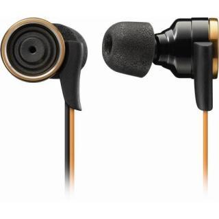 衝撃の重低音 イヤホン TH-XEC300 ゴールド