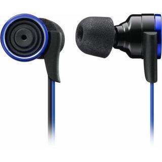 衝撃の重低音 イヤホン TH-XEC300 ブルー