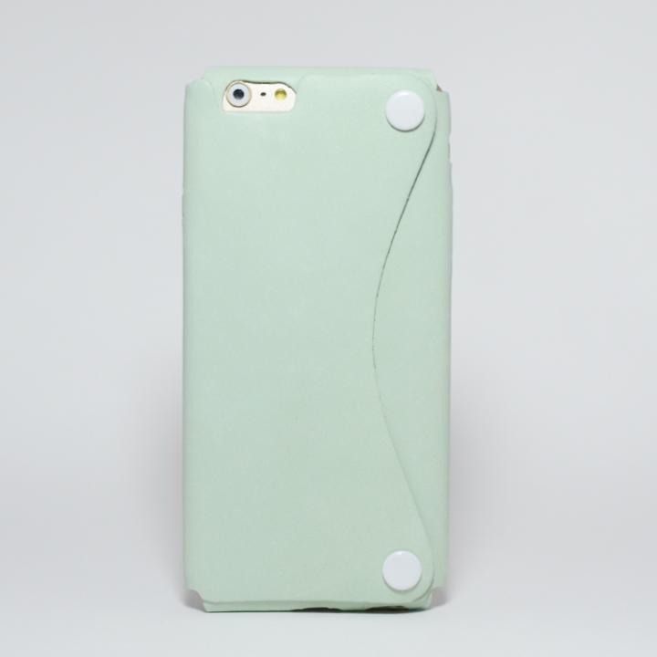 iPhone6s/6 ケース 本革一枚で包み込むケース mobakawa アッシュミント iPhone 6s/6_0