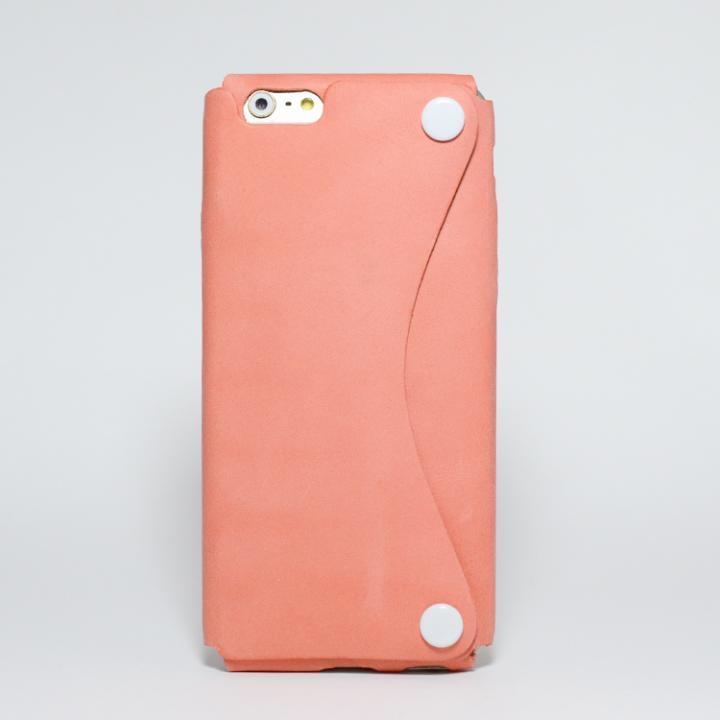 iPhone6s/6 ケース 本革一枚で包み込むケース mobakawa アッシュオレンジ iPhone 6s/6_0