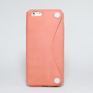 本革一枚で包み込むケース mobakawa アッシュオレンジ iPhone 6s/6