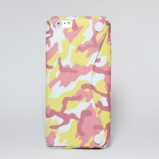 本革一枚で包み込むケース mobakawa レッドカモフラージュ iPhone 6
