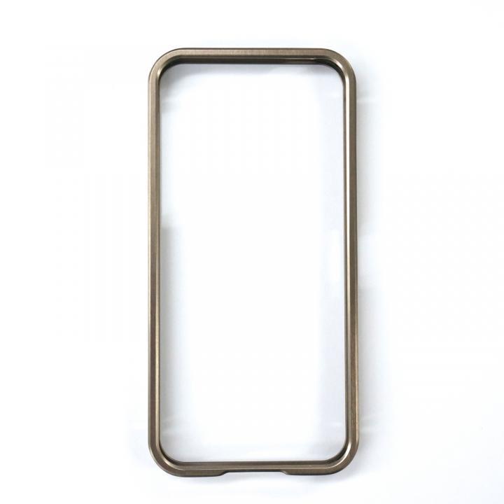 iPhone SE/5s/5 バンパー アルマーバンパー ドゥオフレーム チタニウム