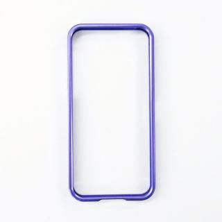 iPhone SE/5s/5 バンパー アルマーバンパー ドゥオフレーム パープル