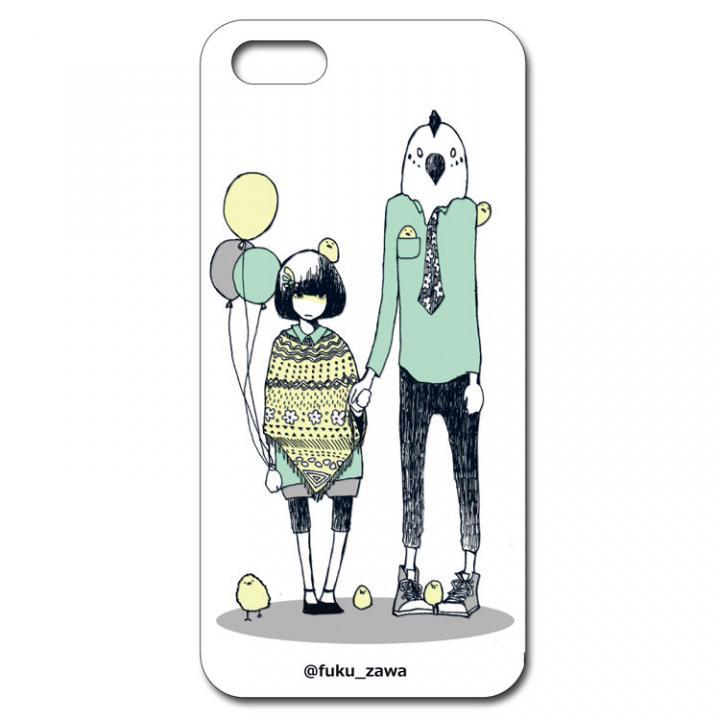 フクザワ【鳥】iPhone SE/5s/5ケース