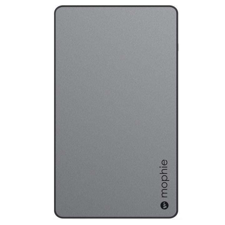 [6000mAh]mophie Powerstation モバイルバッテリー スペースグレイ