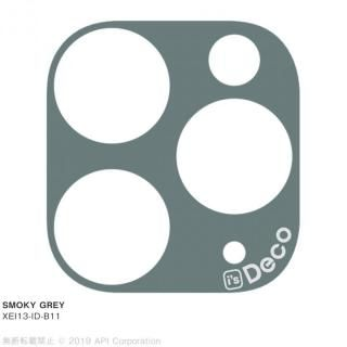 iPhone 11 Pro Max ケース EYLE i's Deco カメラレンズ デコフィルム SMOKY GREY iPhone 11 Pro Max