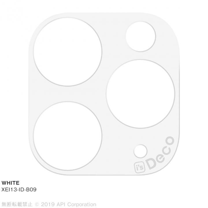 iPhone 11 Pro Max ケース EYLE i's Deco カメラレンズ デコフィルム WHITE iPhone 11 Pro Max_0