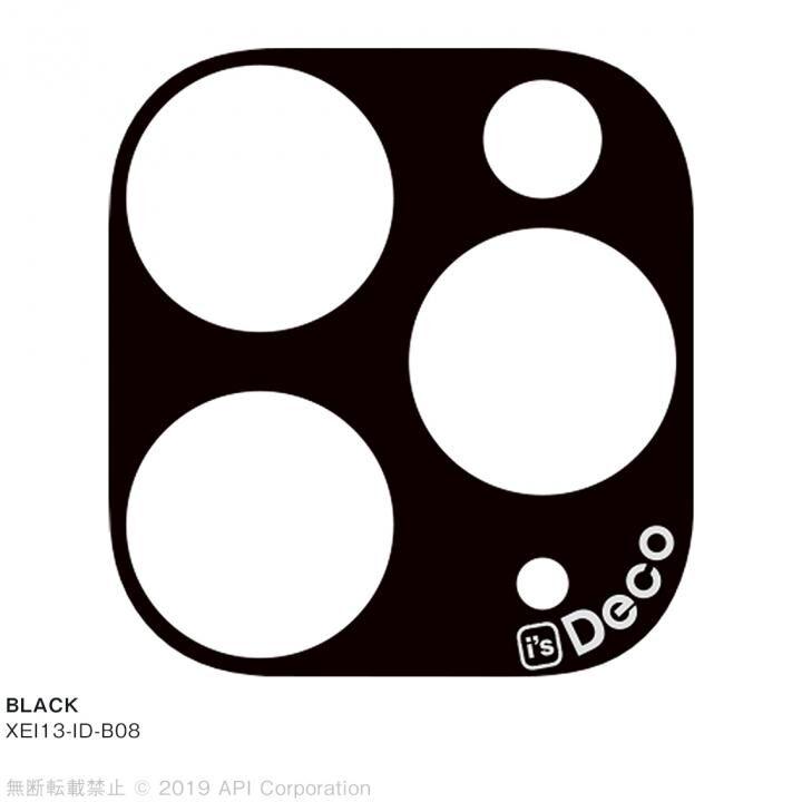 iPhone 11 Pro Max ケース EYLE i's Deco カメラレンズ デコフィルム BLACK iPhone 11 Pro Max_0