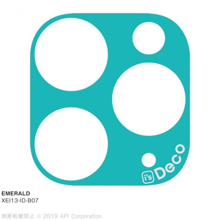 iPhone 11 Pro Max ケース EYLE i's Deco カメラレンズ デコフィルム EMERALD iPhone 11 Pro Max_0