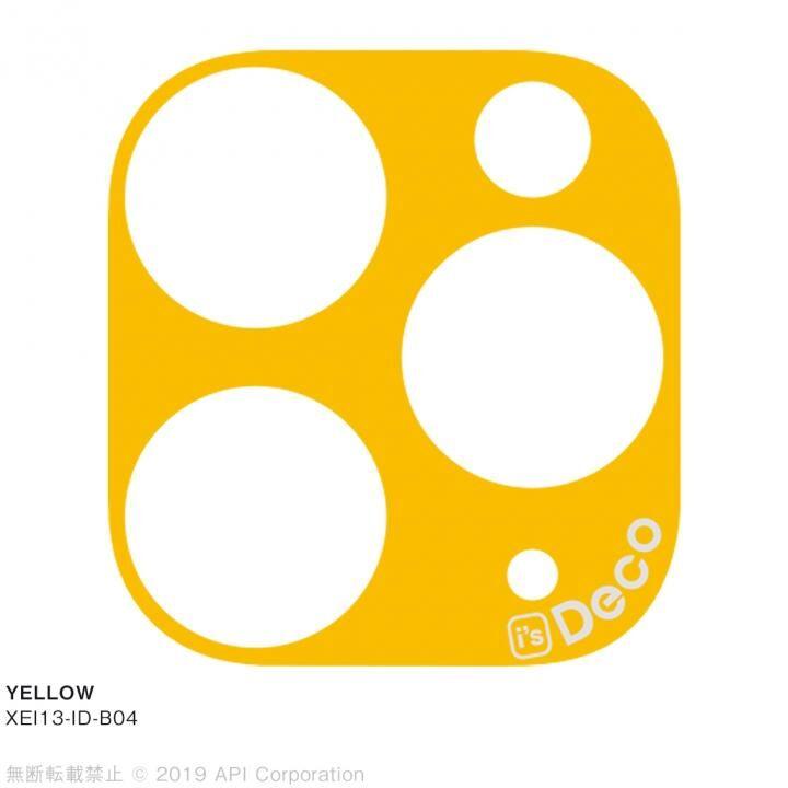 iPhone 11 Pro Max ケース EYLE i's Deco カメラレンズ デコフィルム YELLOW iPhone 11 Pro Max_0