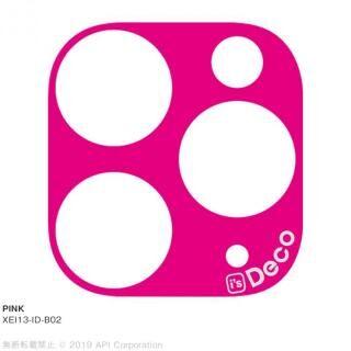 iPhone 11 Pro Max ケース EYLE i's Deco カメラレンズ デコフィルム PINK iPhone 11 Pro Max