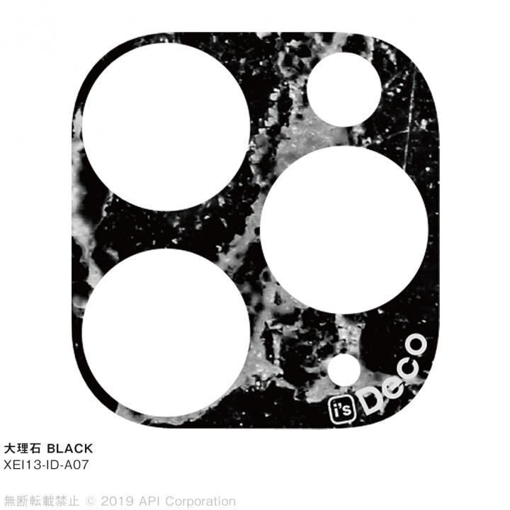 iPhone 11 Pro Max ケース EYLE i's Deco カメラレンズ デコフィルム 大理石 BLACK iPhone 11 Pro Max_0
