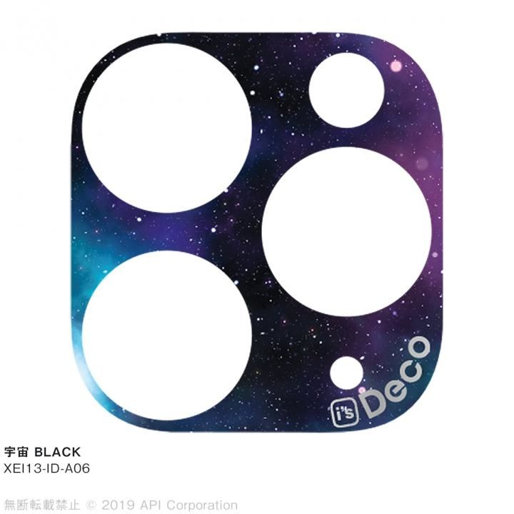iPhone 11 Pro Max ケース EYLE i's Deco カメラレンズ デコフィルム 宇宙 BLACK iPhone 11 Pro Max_0