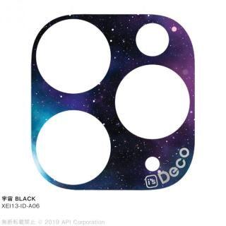 iPhone 11 Pro Max ケース EYLE i's Deco カメラレンズ デコフィルム 宇宙 BLACK iPhone 11 Pro Max