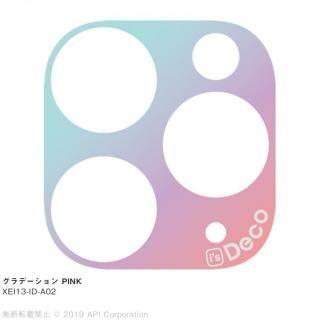 iPhone 11 Pro Max ケース EYLE i's Deco カメラレンズ デコフィルム グラデーション PINK iPhone 11 Pro Max