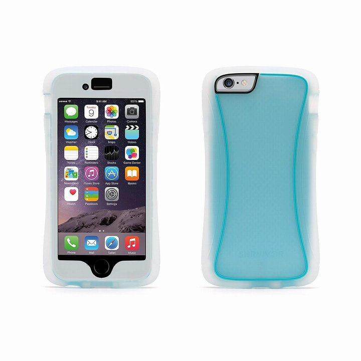 iPhone6 ケース Survivor スリムハイブリッドケース クリアブルー iPhone 6_0