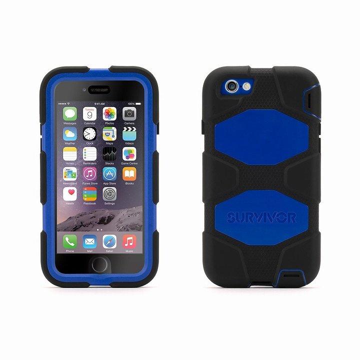 iPhone6 ケース Survivor 防塵・防滴・耐落下ケース ブラック/ブルー iPhone 6_0