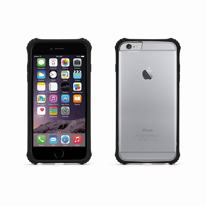 iPhone6 Plus ケース Survivor 耐落下衝撃ケース ブラック/クリア iPhone 6 Plus_0