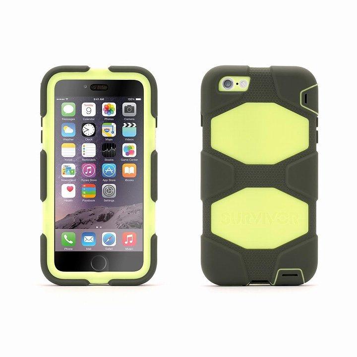 【iPhone6 Plusケース】Survivor 防塵・防滴・耐落下ケース オリーブ/ブラック iPhone 6 Plus_0