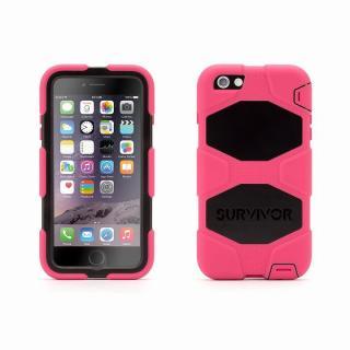 Survivor 防塵・防滴・耐落下ケース ピンク/ブラック iPhone 6 Plus