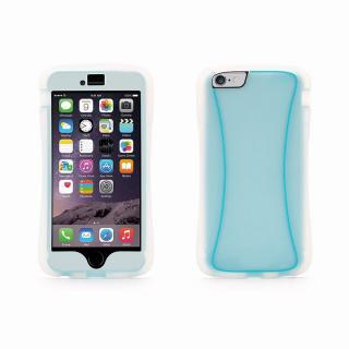 【iPhone6 Plusケース】Survivor スリムハイブリッドケース クリアブルー iPhone 6 Plus